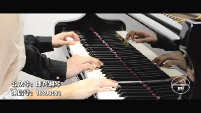 贝尔加湖畔钢琴简谱