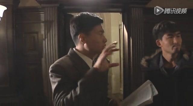 于滨《暗渡》片场秀儿子萌照  戏里戏外好男人截图