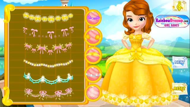 若涵乐园 亲子游戏 小公主苏菲亚 迪士尼公主 公主贴纸画图片