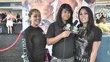 腾讯专访K1洛杉矶粉丝 美女粉丝团盛情邀请