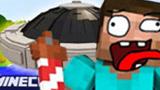 大海解说 我的世界Minecraft 搞笑重返中世纪飞机竟然玩坏了