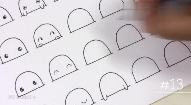 十二生肖简笔画:老鼠