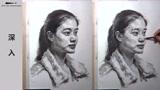 第七十五集 朱传奇女青年素描头像示范完全版 (318播放)
