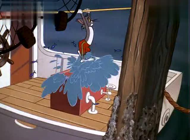 猫和老鼠之杰瑞拯救把汤姆认成妈妈的可爱小鸭子