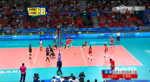 【集锦】女排世锦赛小组赛中国3:2日本截图