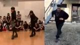 黑人小伙神级模仿日本拉拉舞者魔性甩手舞