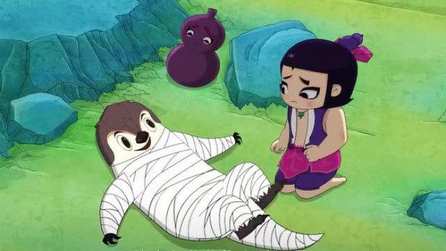 葫芦娃穿山甲头像图片