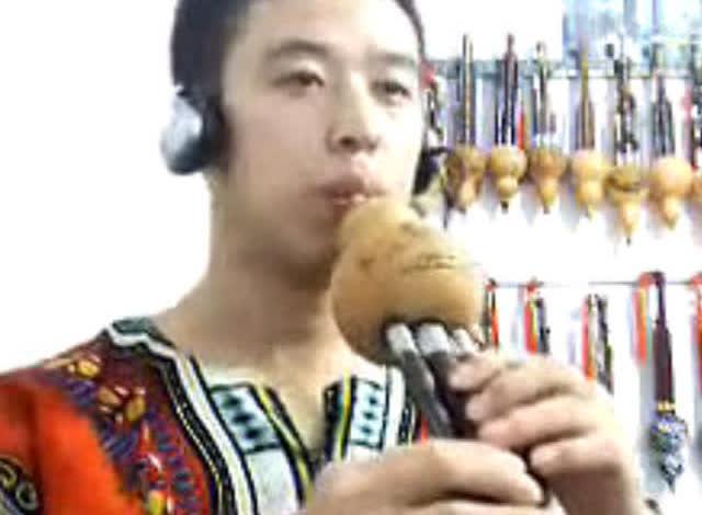 葫芦丝演奏《天路》根据韩红最令人熟知的歌曲而吹奏