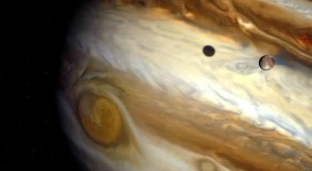 太阳系最大的行星木星