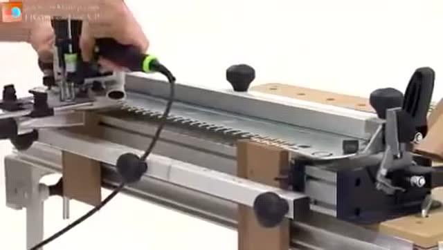看老外超强大的木工制作工具 意想不到的先进