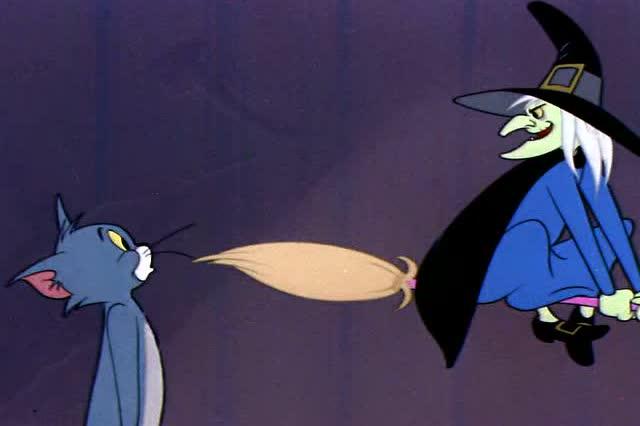 猫和老鼠汤姆主人照片_猫和老鼠 汤姆抛弃女主人 跟女巫去学魔法 回来还向杰瑞炫耀
