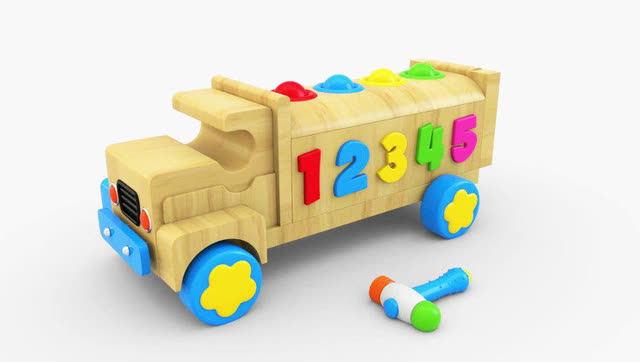 3d动物,宝宝洗澡,汽车和小火车