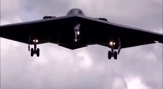 空中幽灵b2!当今世界上超级厉害的隐身飞机!