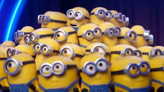 《卑鄙的我3》最新视频:小黄人大合唱