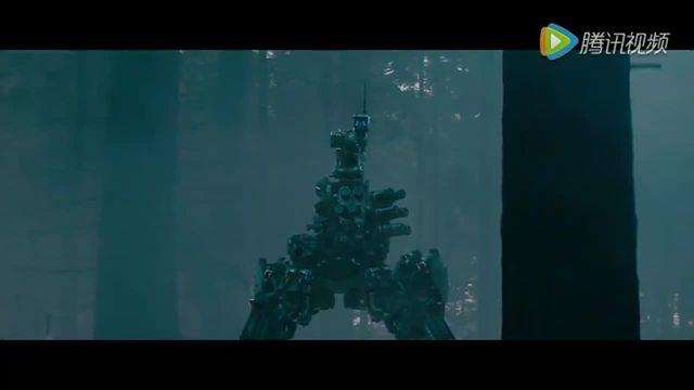科幻战争电影《杀戮指令》里的 机器人vs人类士兵