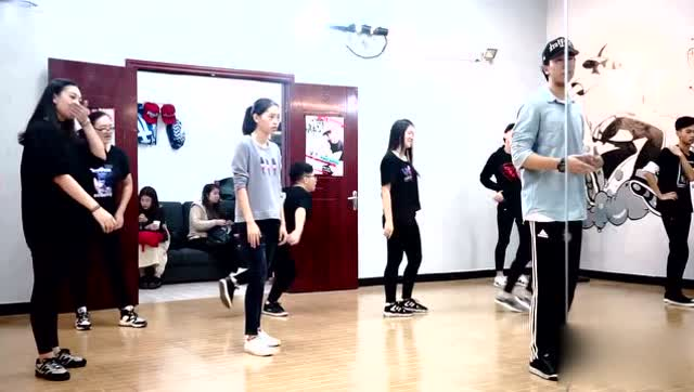 《社会摇》舞蹈教学图片