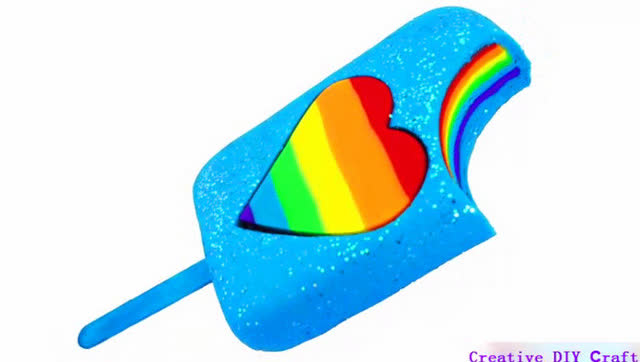 创意手工diy,亲子游戏,水晶橡皮泥制作彩虹数字,边玩边学