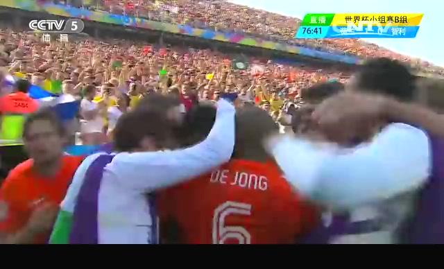 【进球】费尔替补出场进球 荷兰占据领先位置截图