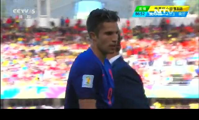 【个人集锦】范佩西打入关键进球 染黄错过下场比赛截图