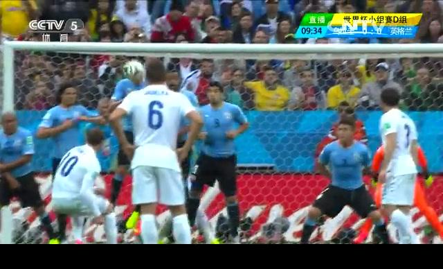 【英格兰集锦】乌拉圭2-1英格兰 鲁尼进球难救主截图
