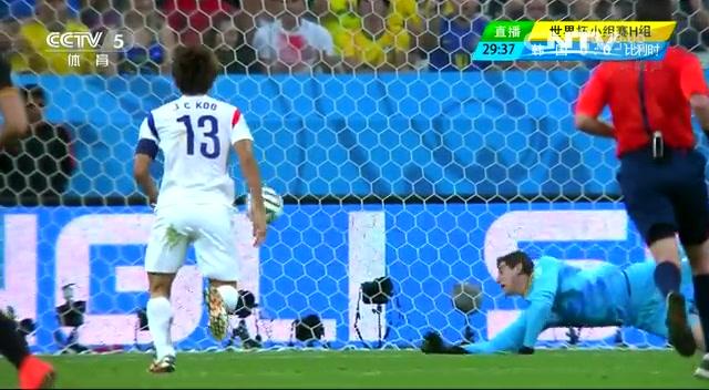 全场集锦:韩国0-1比利时 欧洲红魔队长破门截图
