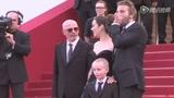 戛纳第二日《锈与骨》展映 奥斯卡影后低调现身
