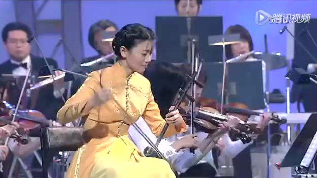 二胡与交响乐合奏《夜深沉》