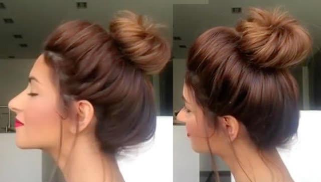 教你扎1000种头发 长头发女生怎么扎头发简单好看