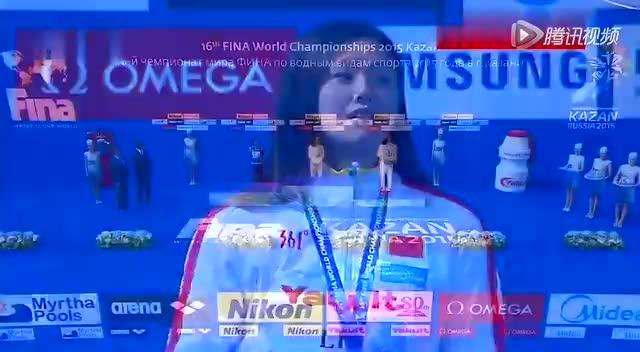 女子50米仰泳 傅园慧刘湘分获金铜让五星红旗同时升起截图