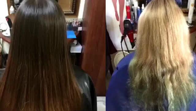蓬巴杜 背头复古发型教学
