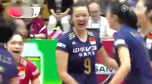 中国女排的夺冠之路回顾世界杯女排飒爽英姿截图