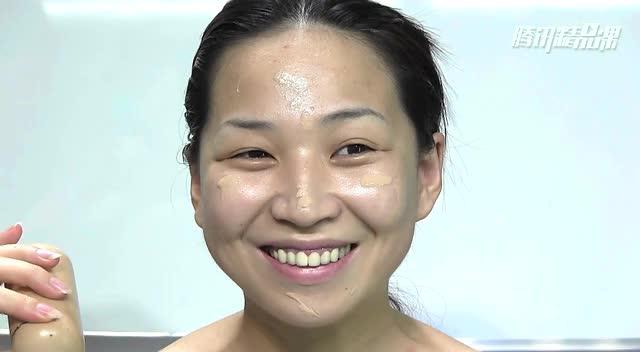 彩色新娘妆容