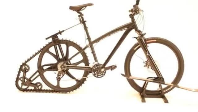 老外设计出来的几种让人惊呆的自行车,真有创意