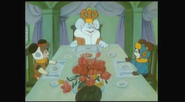 舒克和贝塔 猫国国王召见