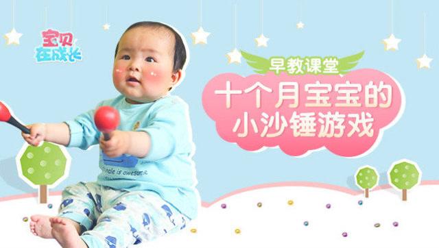 锻炼十个月宝宝的感官