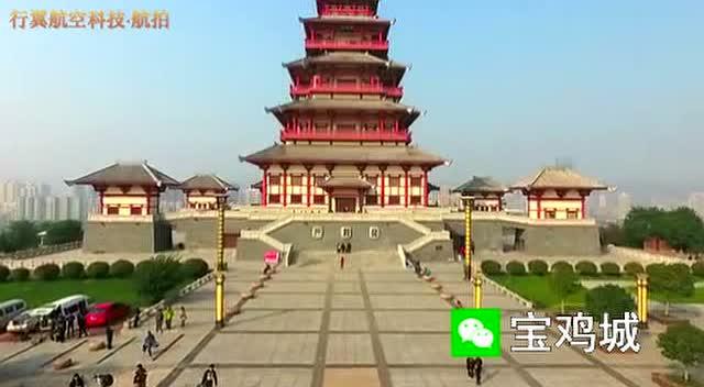 宝鸡九龙山景区社火游演中