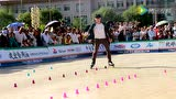 8th 王浩博 2016中国(中宁)国际轮滑公开赛 成男花桩