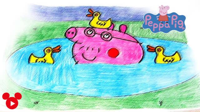 幼儿美术小猪作品