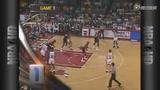 视频:乔丹92年总决赛十佳球 三分飙死开拓者