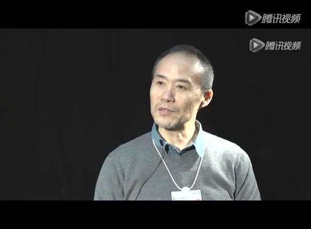 腾讯专访万科集团董事长王石截图