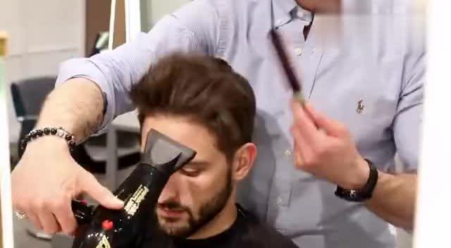 欧美男士发型教程,简直帅到劈叉