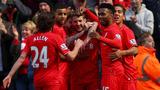 利物浦2-2纽卡斯尔 斯图破门纽卡连追两球