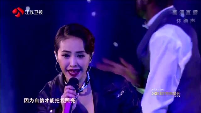 蔡依林《青春修炼手册》江苏卫视2017跨年演唱会现场