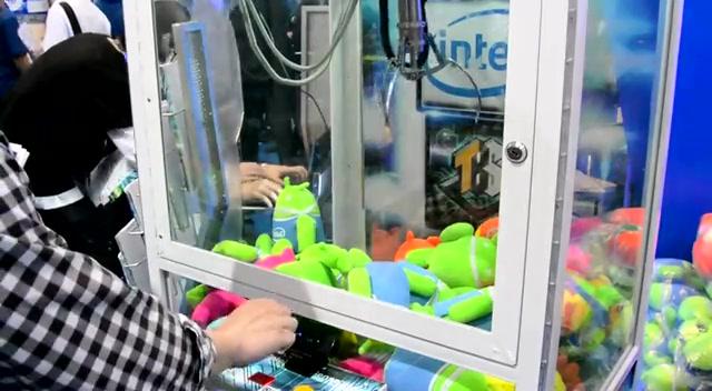 利用手势控制的抓娃娃机截图