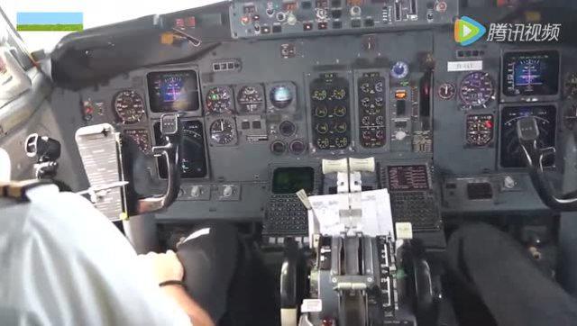 波音737起飞时 驾驶舱里经历了什么