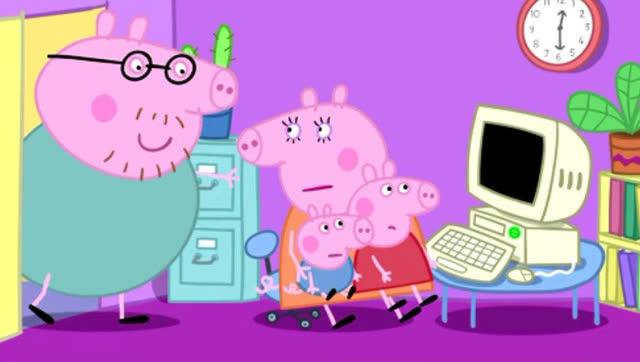 小猪佩奇英文版15