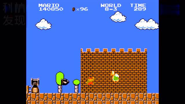 超级玛丽采蘑菇 小时玩的经典版怀旧游戏 fc插卡游戏机 小霸王电视