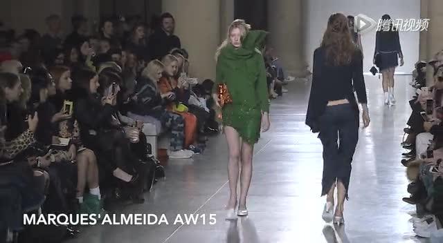 2015秋冬伦敦时装周:Marques'Almeida截图