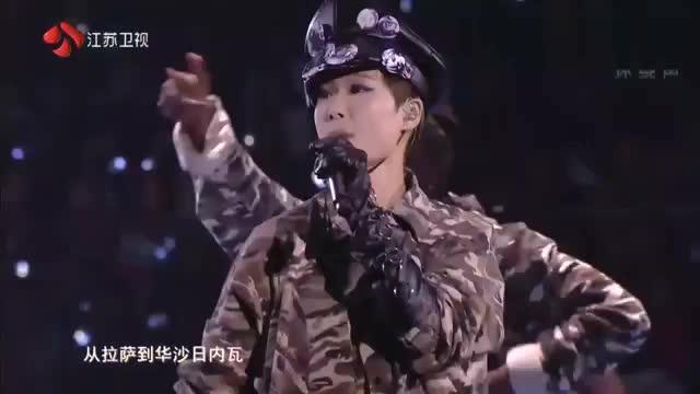 李宇春江苏卫视跨年 李宇春江苏卫视视频 李宇春老公和孩子照片