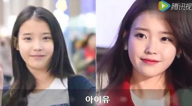来一波韩国女爱豆的化妆前后对比~好多素颜美女哦